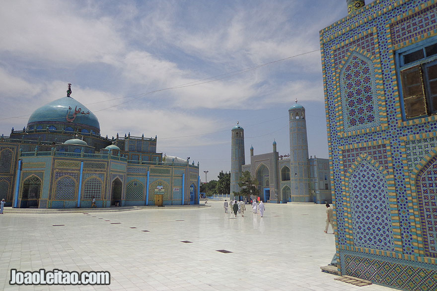 Visitar Mazar-i-Sharif, Republica Islamica do Afeganistao