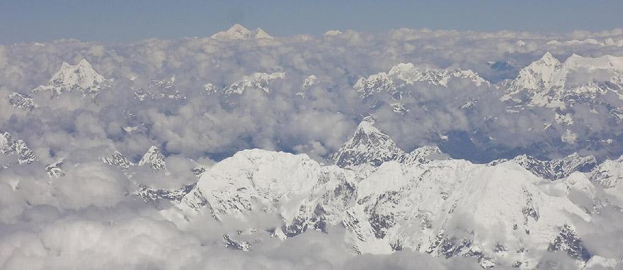 Sobrevoar o Monte Evereste