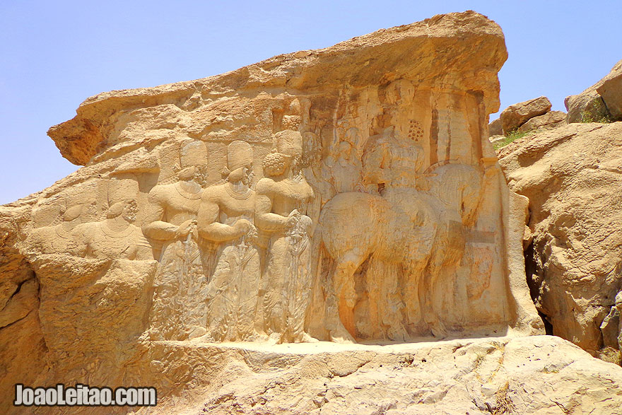 Naqsh-e Rustam ancient necropolis from 1000 BC - Sightseeing in Iran