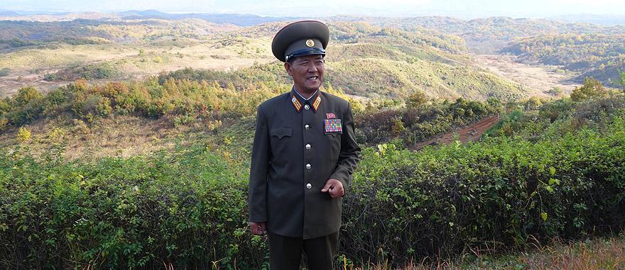 Área desmilitarizada na Coreia do Norte - DMZ