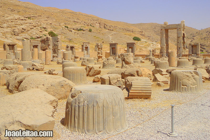 Persepolis ancient city - UNESCO Sites in Iran