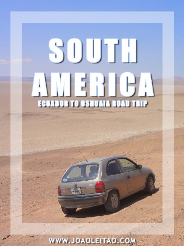 Driving in South America - Ecuador to Ushuaia road trip
