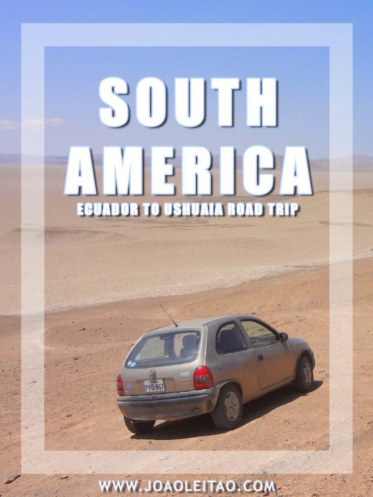 दक्षिण अमेरिका में ड्राइविंग • 4-मंथली रोड ट्रिप »13350 किलोमीटर» क्विटो-उसुहिया