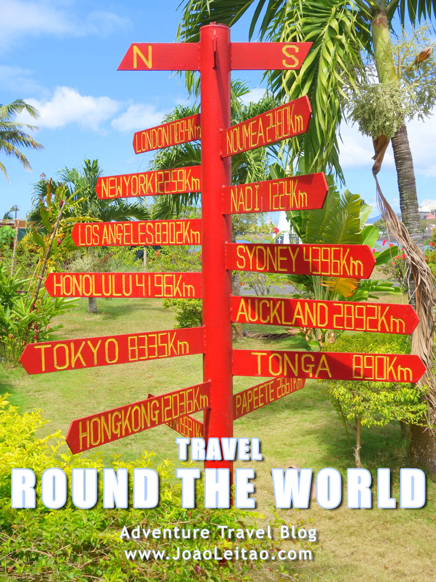 How to prepare a round the world trip