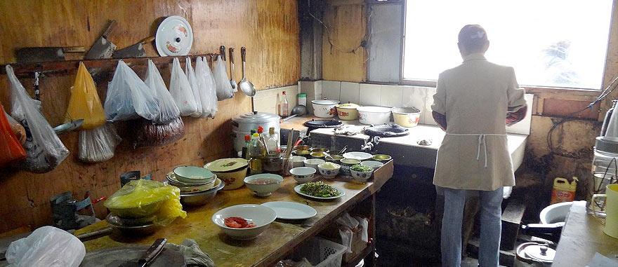 Restaurant in Nyalam Tibet