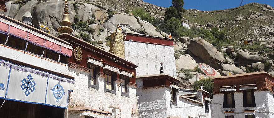 Sera Monastery in Lhasa Tibet