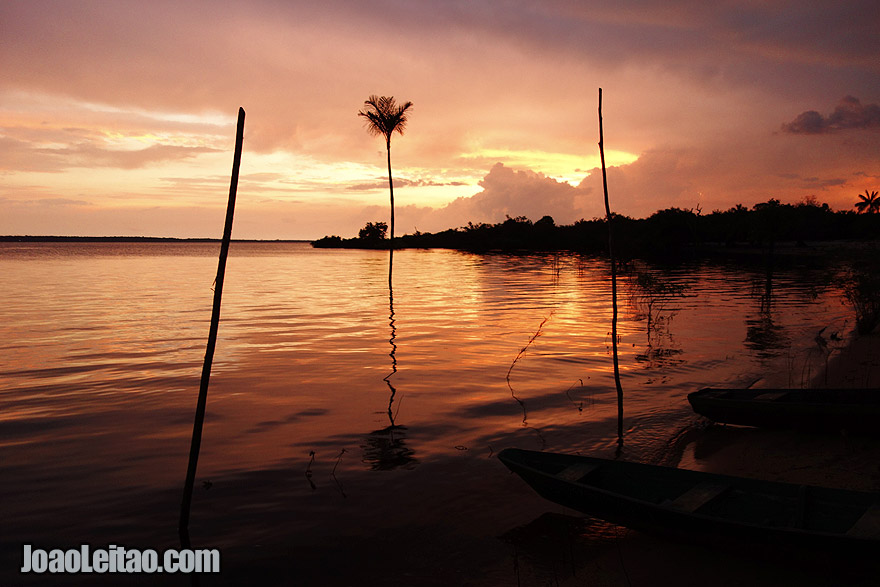 South America Best Destinations - South America Travel Guide - photo Rio Negro, Amazon - Brazil