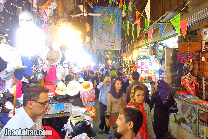Market Bazar in Tehran - Where to go in Iran