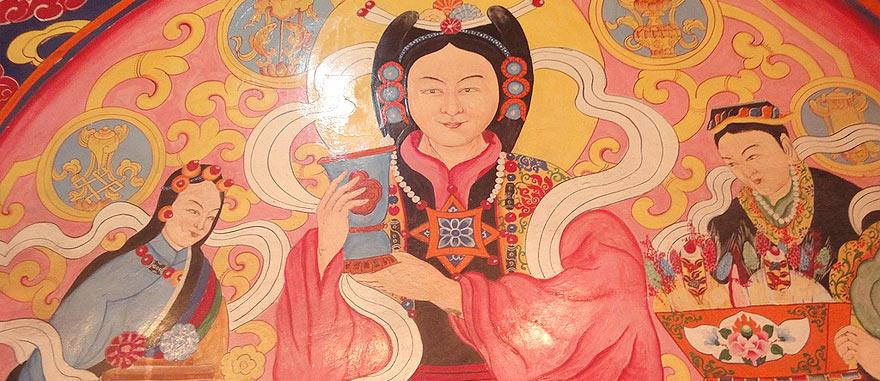 Tibetan Painting in Lhasa