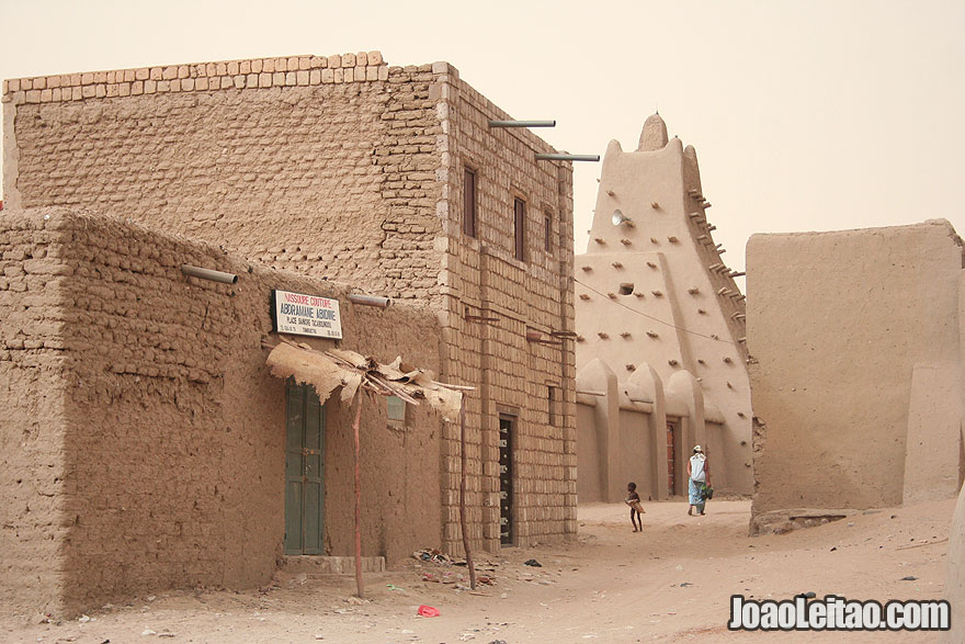 Sankore Mosque in Timbuktu