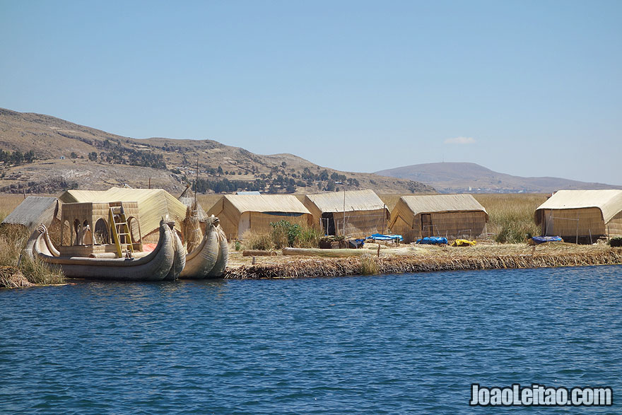 Visit Uros Floating Islands, Peru