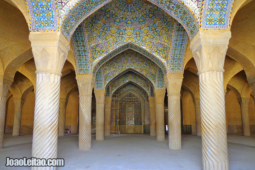 Vakil Mosque in Shiraz - Visit Iran