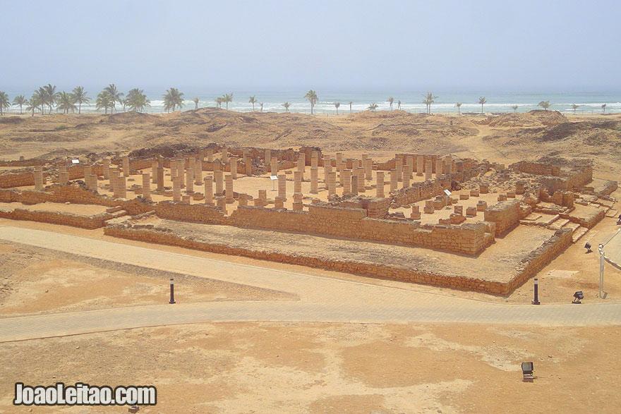 Visit Al-Baleed ruins in Oman