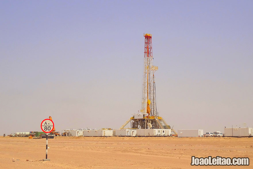 Visit Oil wells in Fahud in Oman