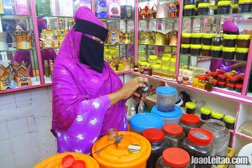 Visit Incense Markets in Salalah in Oman