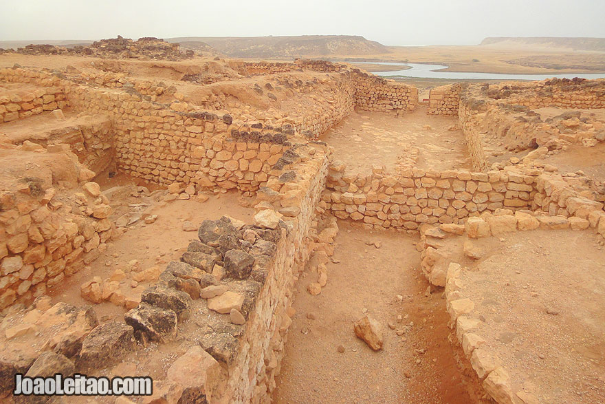 Visit Sumhuram ruins in Oman