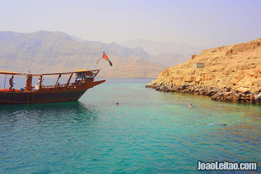 Visit Telegraph Island in Oman