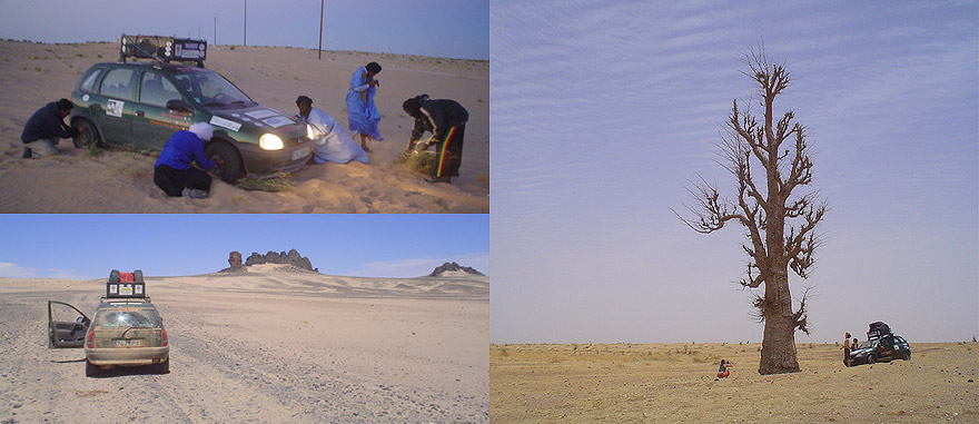 Évora - Tambacounda Expedition 2004