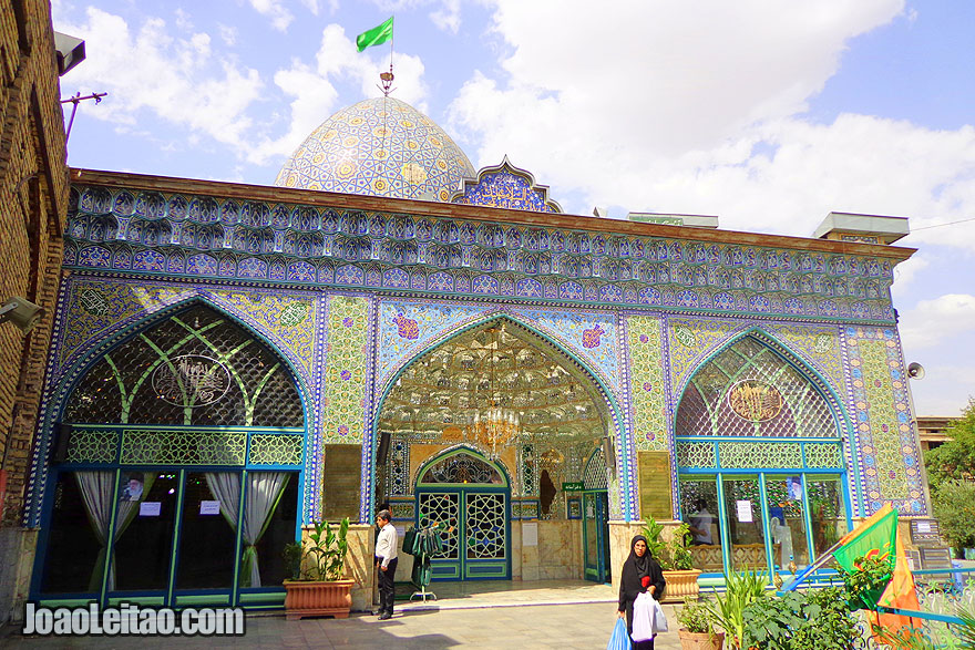 Zaid Mosque in Tehran - Religion in Iran