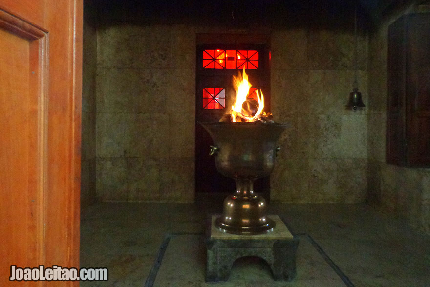 Zoroastrian Religion Ateshkadeh Fire Temple in Yazd - Religion in Iran