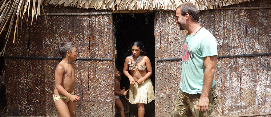 Living with an indigenous Tatuyo tribe in the Amazon Rain Forest
