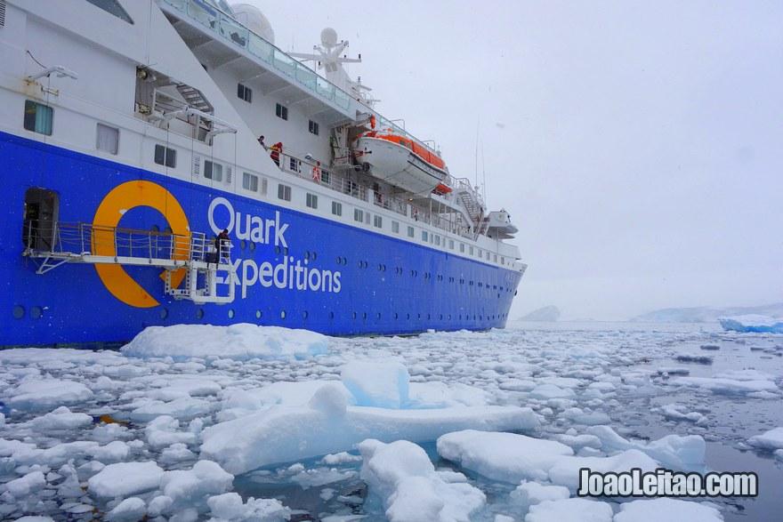 15 dias de Expedição de cruzeiro à Antártida a partir de Ushuaia