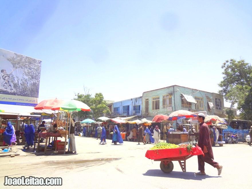 Kunduz City center - Driving in Afghanistan