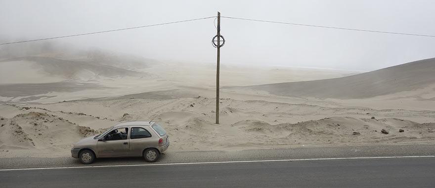 Driving in Peru