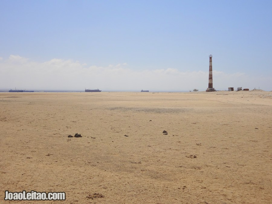 Lighthouse Beach in Berbera Somaliland