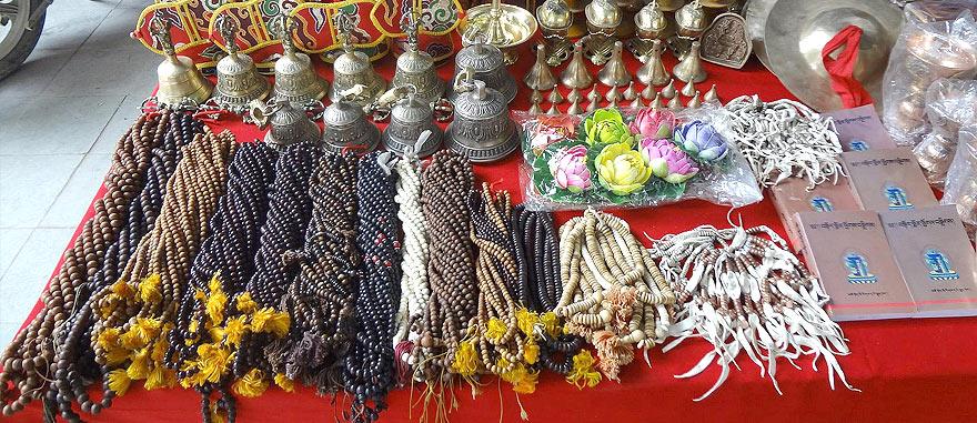 Market in Shigatse Tibet