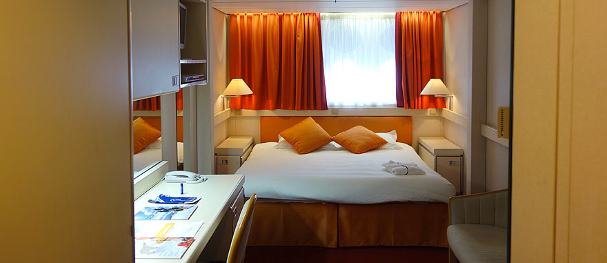 Room inside the Ocean Diamond Cruise Ship
