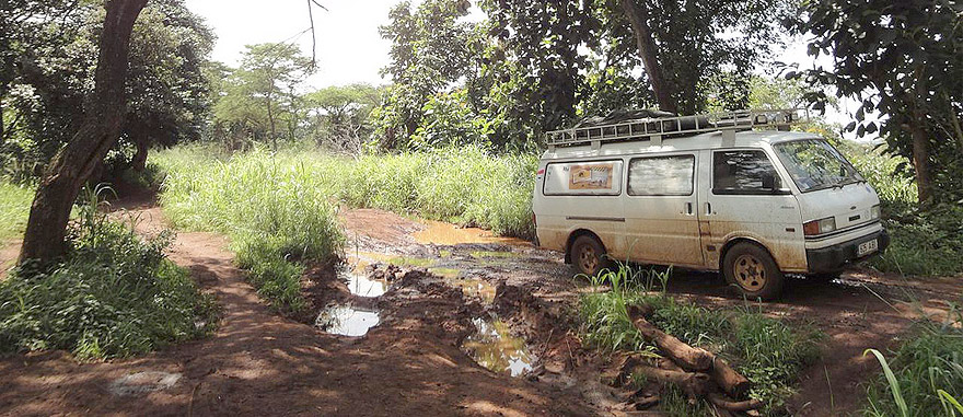Road from South Sudan to DRC