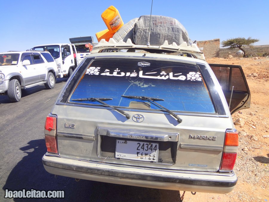 Taxi Wajaale to Hargeisa in Somaliland