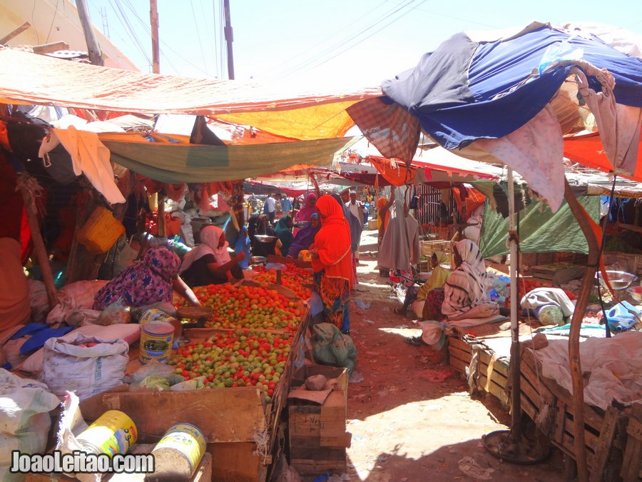 Travel Guide to Somaliland - photo of Bacadlaha Market in Hargeisa