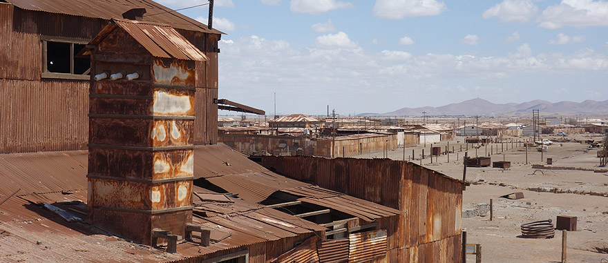 Visit Humberstone in Chile