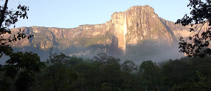 Visit Angel Falls in Venezuela