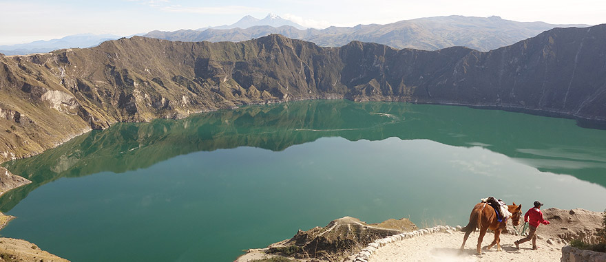 Visit Quilotoa in Ecuador South America Travel Guide