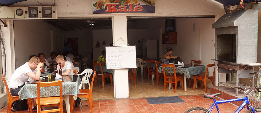Bar Restaurant Kalé - $4 dollar menu in Puerto Ayora - Restaurants in Galapagos