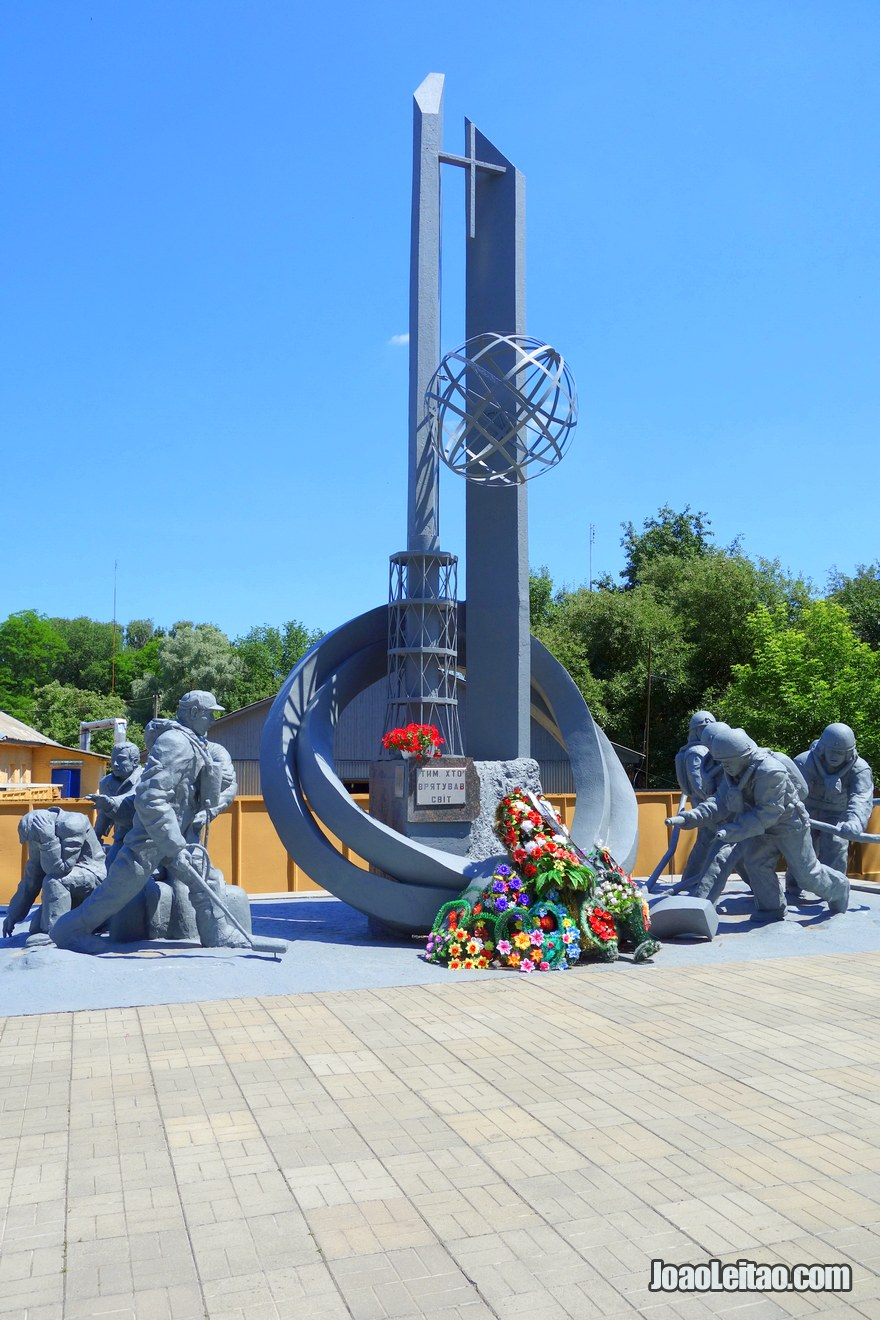 Memorial to the Firemen killed at Chernobyl