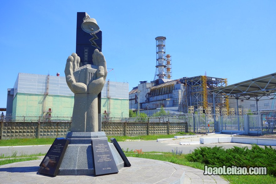 Chernobyl Reactor 4 Sarcophagus - Chernobyl Tour