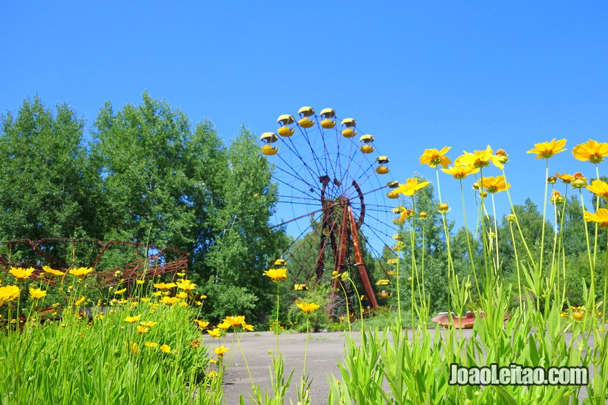 Ferris Wheel in Pripyat - Chernobyl Tour