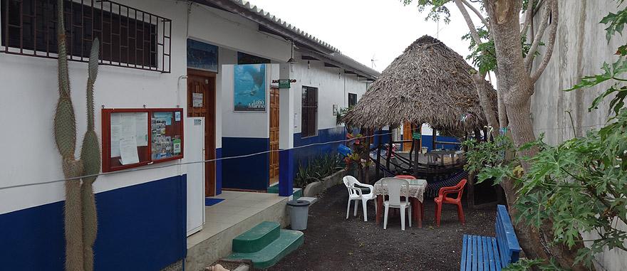 Posada del Caminante in Puerto Villamil, Ilha Isabela Galapagos