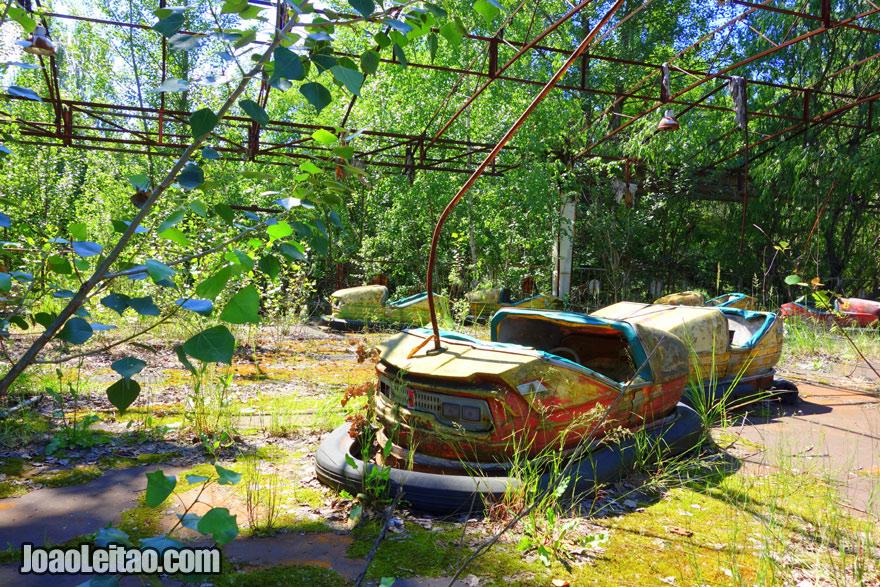 Theme Park in Pripyat Ghost City