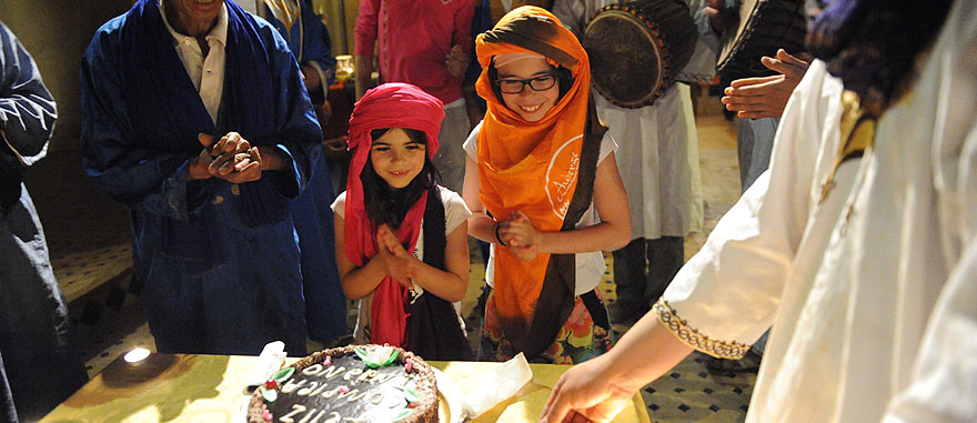 Tourist children birthday party - Mind-blowing Sahara Desert Hotel