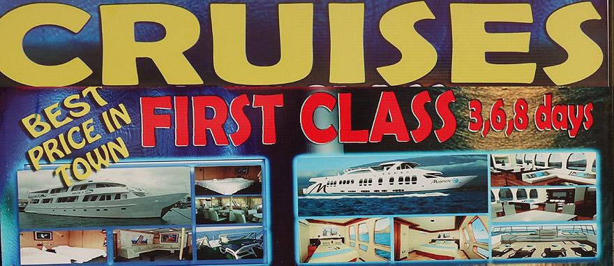 First Class Galapagos Cruises