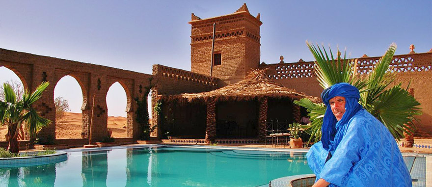 Hotel in Sahara Desert – Auberge Café du Sud