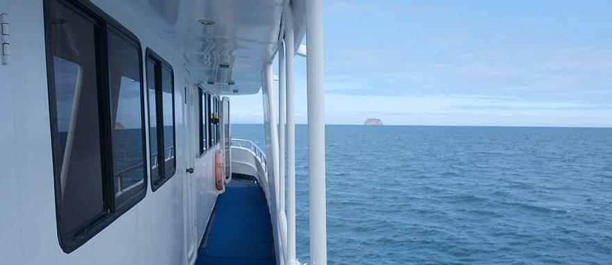 Starboard of Estrella del Mar Galapagos Cruise