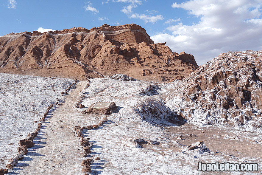 Photo of the Moon Valley in Atacama Chile