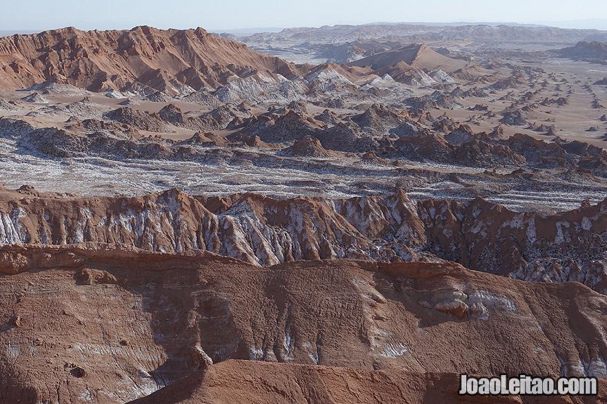 Photo of the Moon Valley in Atacama Desert Chile