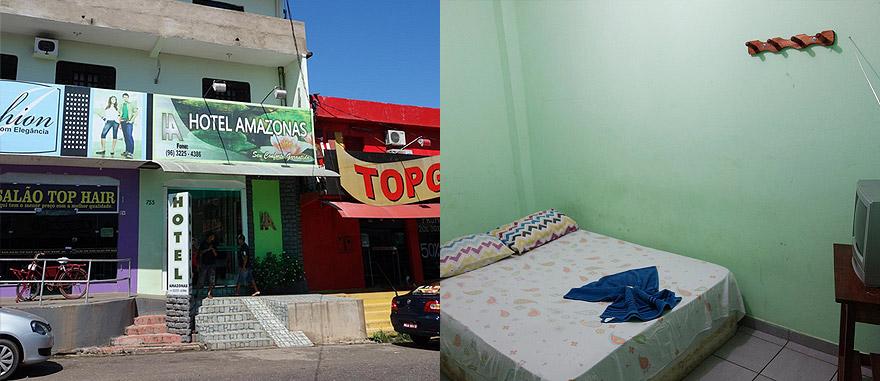 Hotel Amazonas in Macapá Brazil